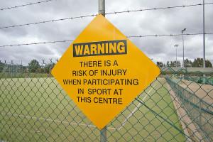 Injury sign